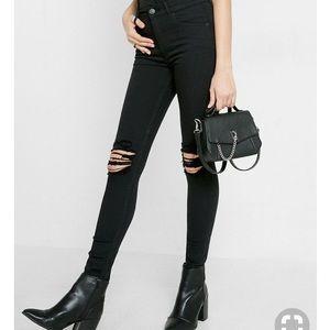 Destroyed Express Jeans- sz. 6